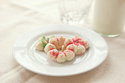 Cookies And Milk Prints - Milk and Cookies Print by Kay Pickens