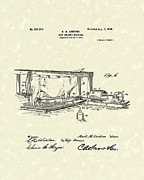 Cow Drawings Framed Prints - Milking Machine 1900 Patent Art Framed Print by Prior Art Design
