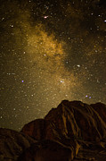 Mike Schmidt Metal Prints - Milky Sky Metal Print by Mike Schmidt