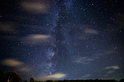 Stars And Planets Prints - Milky Way and Clouds Print by Thomas R Fletcher