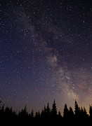 Shooting Star Prints - Milky Way Print by Angie Vogel
