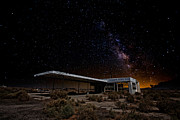 Old Buildings Art - Milky Way Gas by Peter Tellone