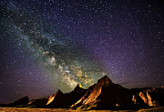 Jennifer Brindley - Milky Way in the Badlands
