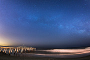 Jerseyshore Photo Originals - Milky Way Jersey Shore by Michael Ver Sprill