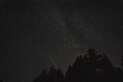 Perseid Photo Prints - Milky Way Meteor Print by Michael Trofimov