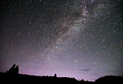 Featured Photo Originals - Milky Way over Yellowstone by Deby Dixon