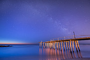 Jerseyshore Photo Originals - Milky Way Sunrise by Michael Ver Sprill