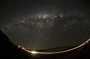 Milky Way Photos - Milky Zip by Aaron S Bedell