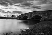Dramatic Skies Framed Prints - Mill Gut Bridge Framed Print by Andrew Pacheco