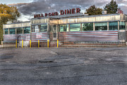 American Food Prints - Mill Pond Diner Print by Andrew Pacheco