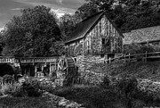 Rustic Mill Framed Prints - Mill - The Mill Framed Print by Mike Savad