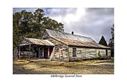 Historic Country Store Prints - Millbridge General Store Print by Terry Spencer