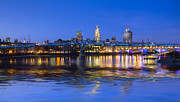 London Scenes Prints - Millennium Bridge London Print by David French