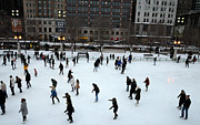 Ice Skating Photos - Millennium Skaters by David Bearden