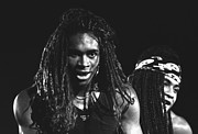 New Jack Swing Framed Prints - Milli Vanilli Framed Print by Front Row  Photographs
