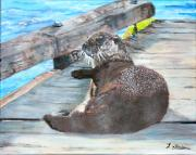 Teresa Dominici - Millie the river otter