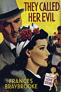 Books Drawings Posters - Mills & Boon  1942  1940s Uk Books They Poster by The Advertising Archives