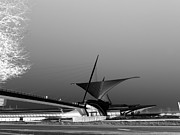 Milwaukee Prints - Milwaukee Art Museum Contra Print by David Bearden