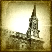Church Digital Art Metal Prints - Milwaukee Metal Print by Jeff Klingler