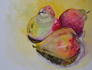 Voluptuous Painting Prints - Mimis Harvest Print by Beverley Harper Tinsley