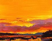 Mimosa Sunrise Print by Mike Savlen