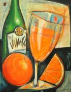 Champagne Paintings - Mimosa by Tim Nyberg