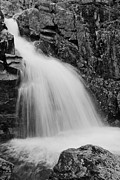 Taum Sauk Prints - Mina Sauk Falls on Taum Sauk Mountain in the Ozarks Print by Greg Matchick