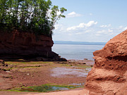 Minas Basin I Print by Brenda Anne Foskett