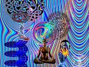 Mind Bender Print by Jason Saunders