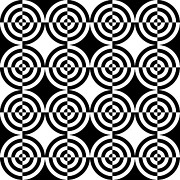 Circles Mixed Media Prints - Mind Games 7 Print by Mike McGlothlen