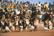 Johannesburg Photos - Mine Dancers South Africa by Susan McCartney