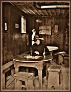 Barkerville Photos - Miners Cabin by Barbara St Jean