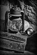 Headlamp Photos - Mineworkers - The Coal Miners Gear by Lee Dos Santos