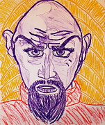 Icon  Pastels Originals - Ming the Merciless by C Alexia