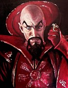 Flash Paintings - Ming the Merciless by Tom Carlton