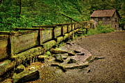 Gatlinburg Tennessee Prints - Mingus Mill Print by Reid Callaway