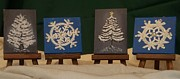 Betty Taylor - Mini Christmas Canvases...