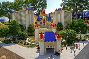 Legoland Prints - Mini Excalibur Print by Ricky Barnard