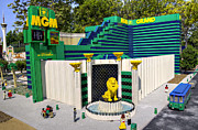 Legoland Prints - Mini MGM Grand Print by Ricky Barnard