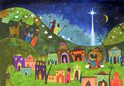 Mini Nativity Print by Kate Cosgrove