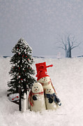 Vicki McLead - Mini Snowman Family