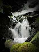 Mini Waterfall Framed Prints - Mini Waterfall 2 Framed Print by Chalet Roome-Rigdon