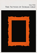 Library Digital Art - Minimalist book cover the picture of dorian gray by Budi Satria Kwan