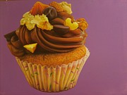 Photo Real Paintings - Minimuffins. by Lucas Salgado