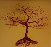 Sculpted Sculpture Prints - Minitree Print by Brian Boyer