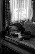 Lynn Palmer - Mink Stole White Gloves and Hat