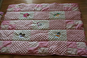 Baby Tapestries - Textiles - Minky Blanket by Farol NeSmith