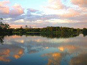 Minneapolis Skyline Prints - Minneapolis Lakes Print by Heidi Hermes