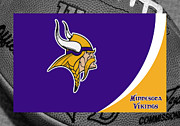 Minnesota Art - Minnesota Vikings by Joe Hamilton