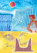 Minoan Labyrinth Knossos  Print by Nikos Smyrnios